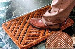 Coir Wire Brush Mats